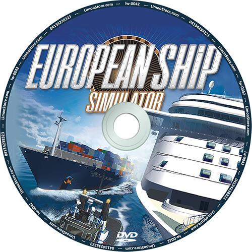 بازی European Ship Simulator شبیه سازی کشتی رانی در اروپا