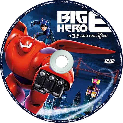 انیمیشن ۶ قهرمان بزرگ Big Hero 6 دوبله فارسی