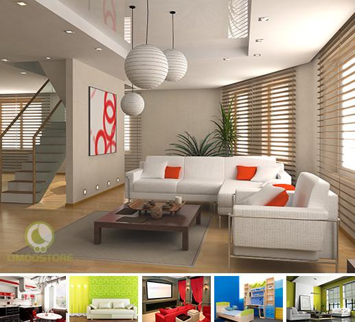 طراحی دکوراسیون فضای داخلی خانه