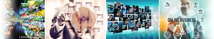 تصاویر تجارت و کسب و کار آنلاین