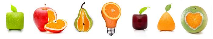 تصاویر مفهومی میوه ها