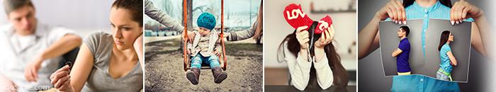 تصاویر مفهومی طلاق و جدایی