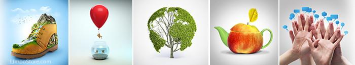تصاویر مفهومی ایده های جالب برای عکس