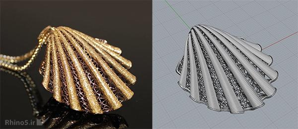 نمونه جواهر ساخته شده با ماتریکس