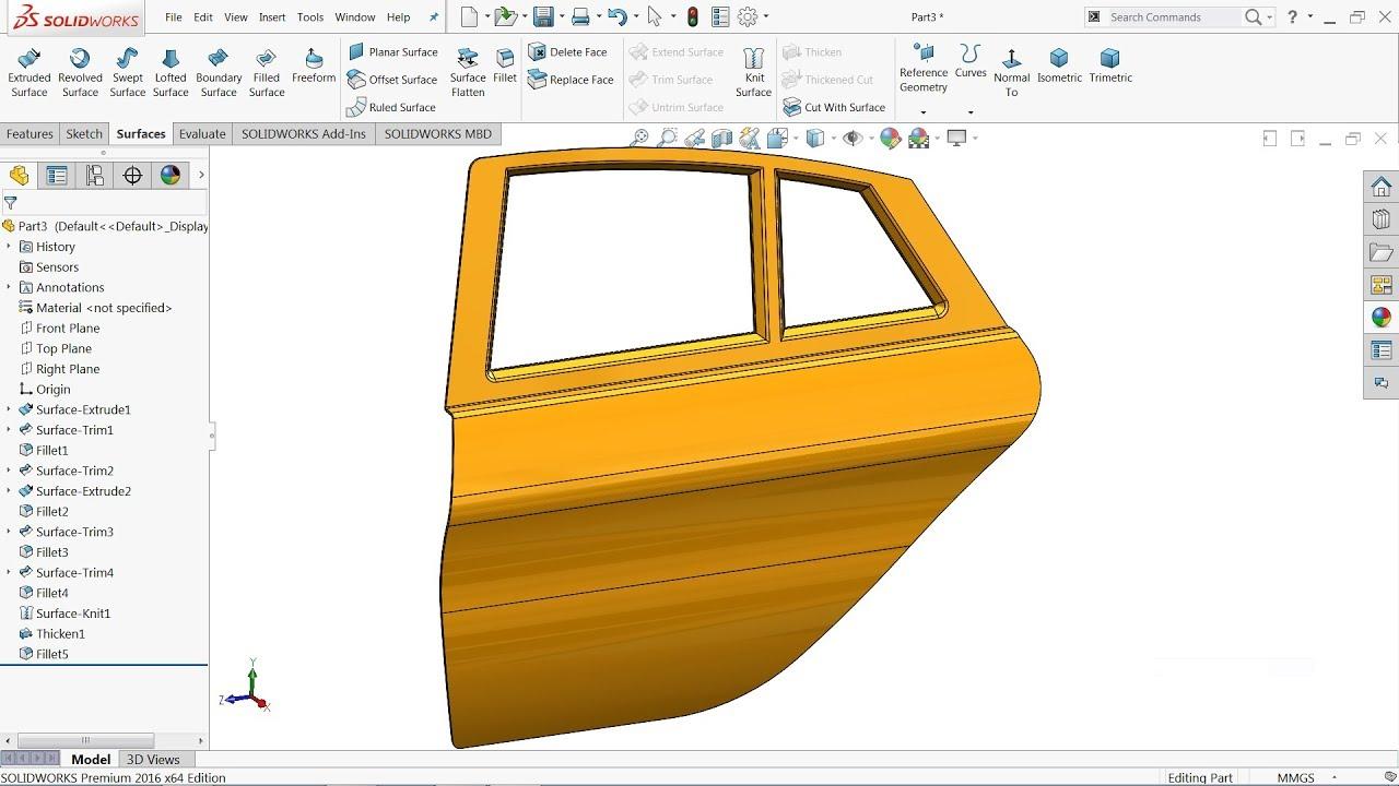 آموزش کار با ورق فلز خودروسازی